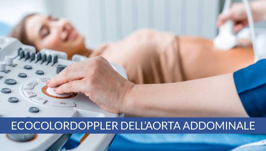 EcocolorDoppler dell'aorta addominale a Napoli